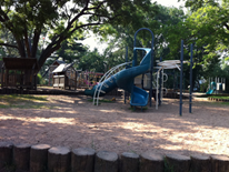 Lafayette Playground Slide and Climbing Feature May 2014