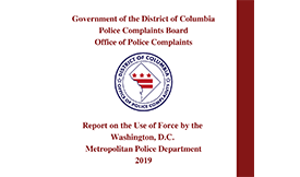 2019 Use of Force Report