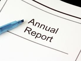 image of an annual report